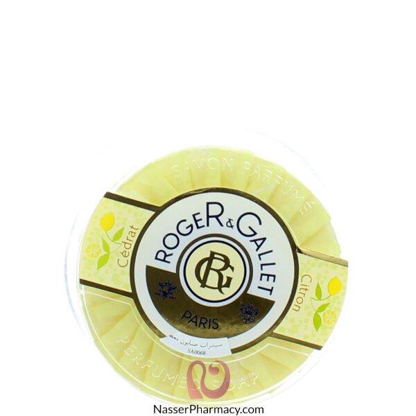Roger & Gallet  ( R & G )  Cedrat (citron) Fresh Savon  Boite Voyage 100g