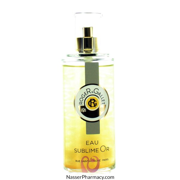 Roger & Gallet ( R & G )   Eau Sublime Or Fresh Fragrant Water