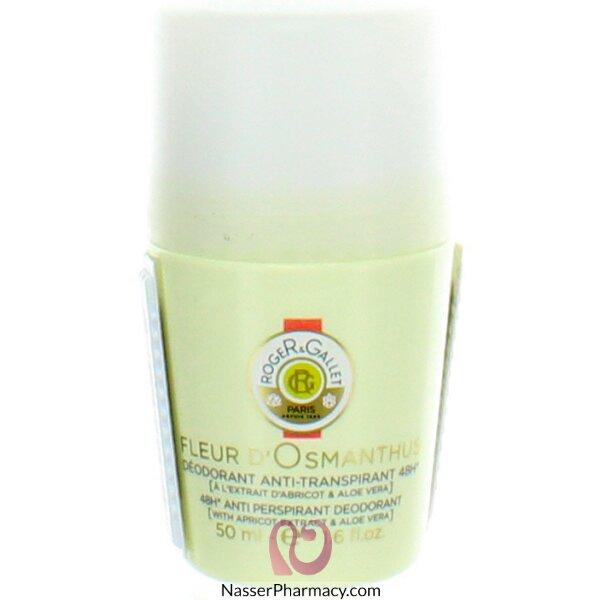 Roger & Gallet ( R & G )  Fleur D' Osmanthus 48h Anti Perspirant Deodorant Roll On
