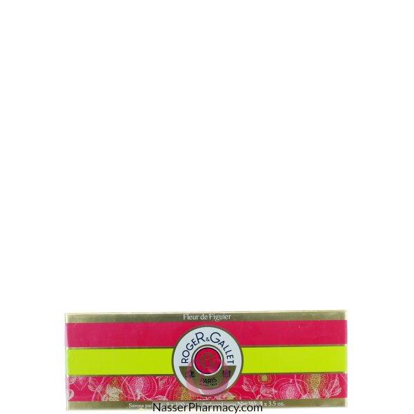 Roger & Gallet  ( R & G )  Fleur De Figuier Perfumed Soap Coffret 3x100g