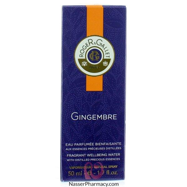 Roger & Gallet( R & G )  Gingembre Eau Fraiche - 50ml