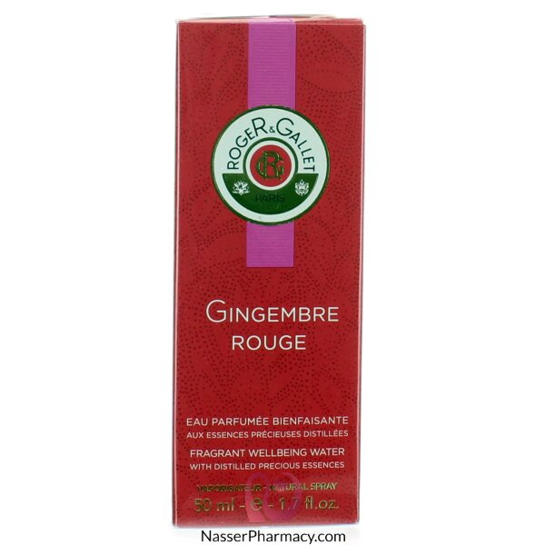 Roger & Gallet ( R & G )   Gingembre Rouge Eau FraÎche Fragrant Wellbeing Water - 50ml