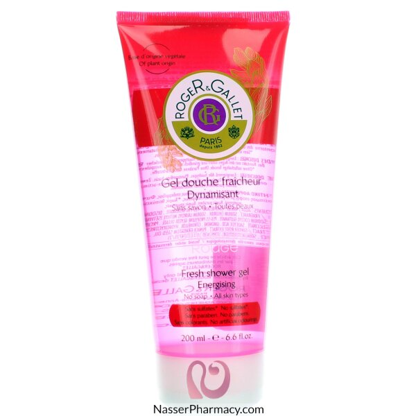 Roger & Gallet ( R & G )   Gingembre Rouge Shower Gel - 200ml