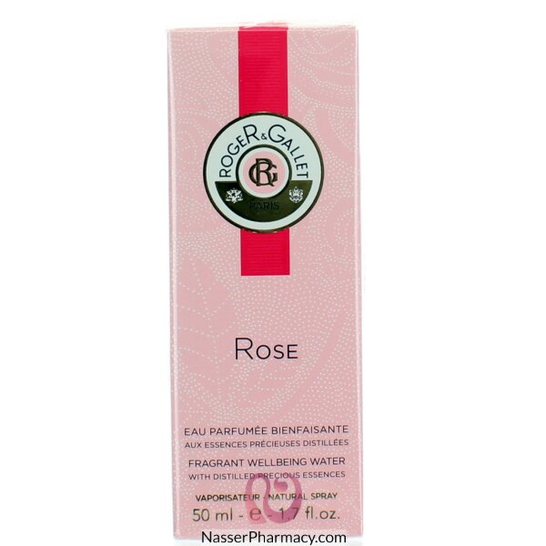 Roger & Gallet ( R & G )   Rose Eau Fraiche Fragrant Water - 50 Ml