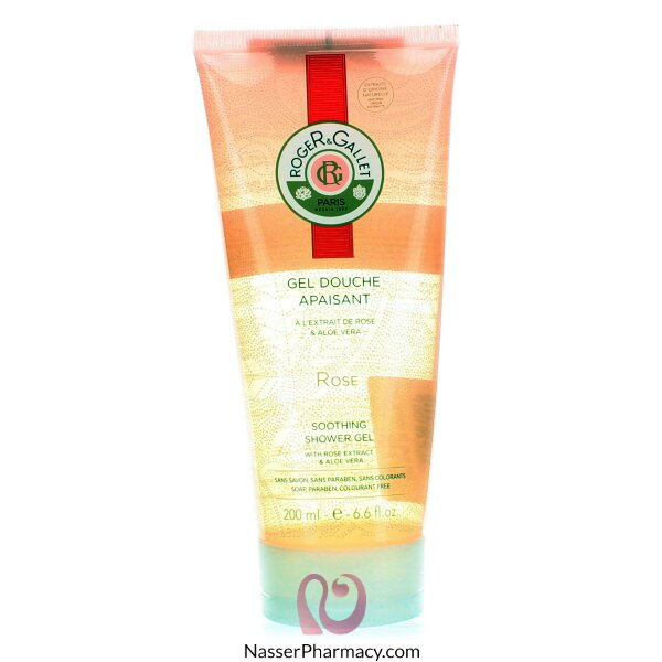 Roger & Gallet  ( R & G )  Rose Shower Gel - 200ml