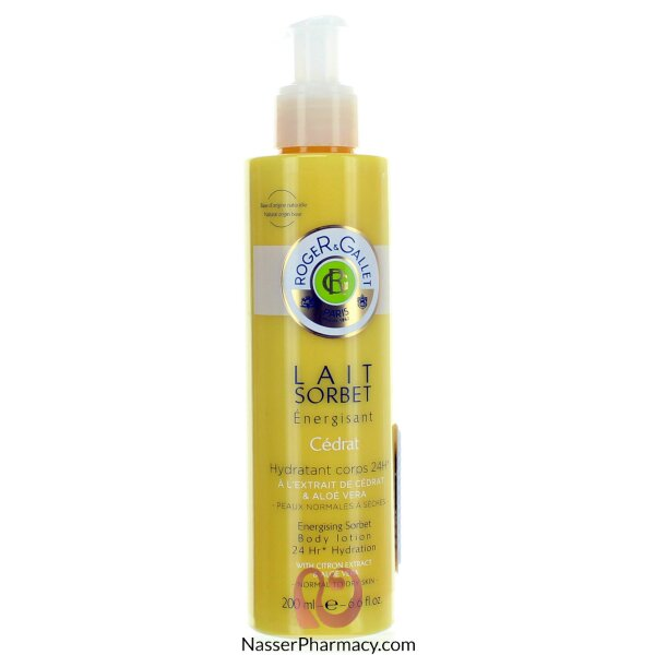 Roger & Gallet ( R & G )  Sorbet Body Lotion Cedrat - 200 Ml