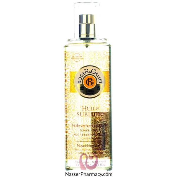 Roger & Gallet( R & G )  Sublime Or Huile Oil - 100 Ml