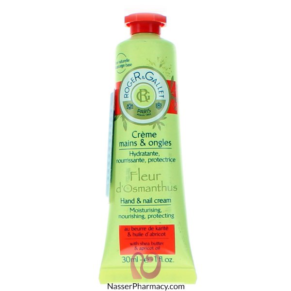 Roger & Gallet( R & G )  Fleur D&#39osmanthus Hand And Nail Cream - 30 Ml