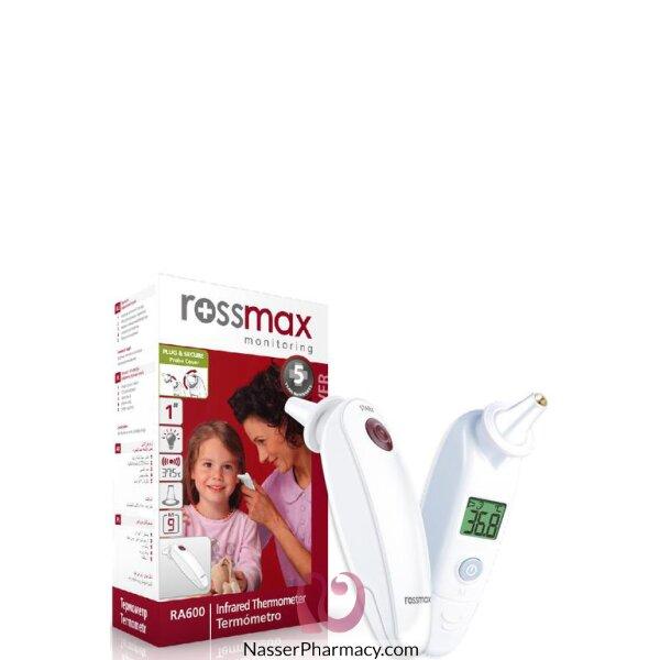 روز ماكس Rossmax مقياس درجة الحرارة فوق الحمراء للأذن - Ra600