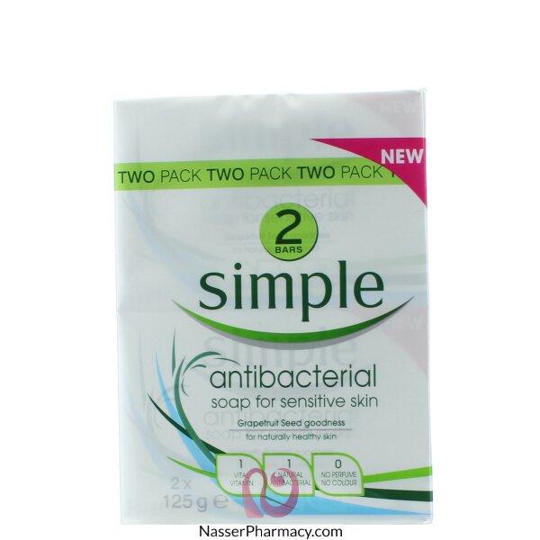 Simple Anti-bacterial Soap 2 Pack - 2*125g