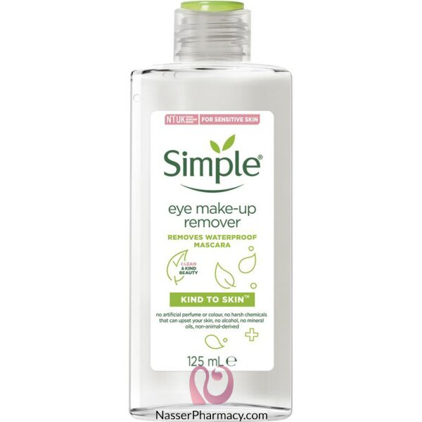 Simple Kind To Eyes Eye Make-up Remover -125ml