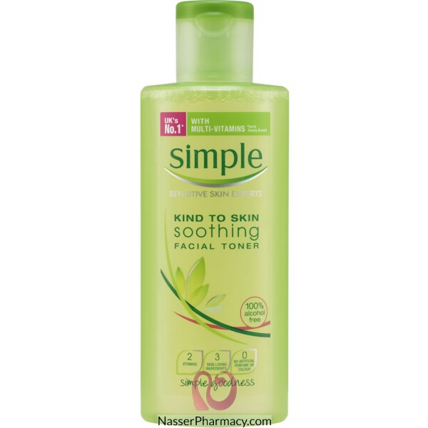 Simple Minis Smoothing Facial Toner- 50ml