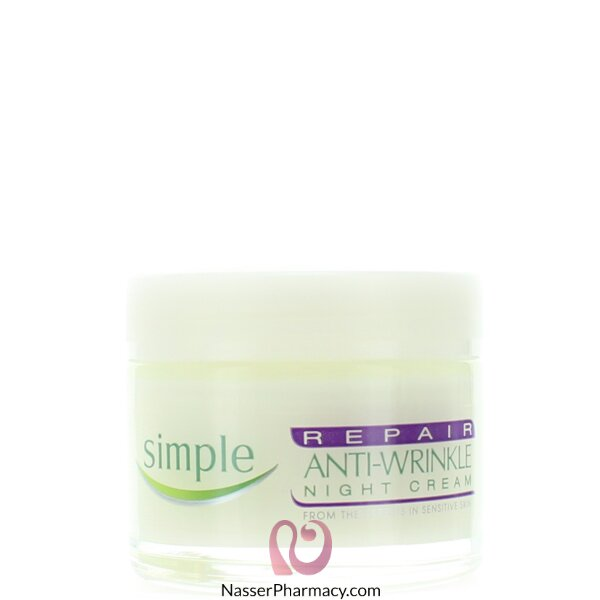 Simple Repair Anti Wrkle Night Cream - 50ml