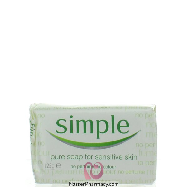 Simple Soap 1 Pack- 125g