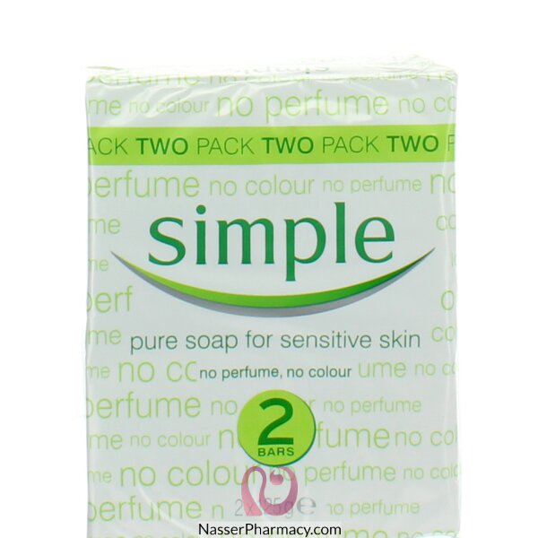 Simple Soap 2 Pack 125g
