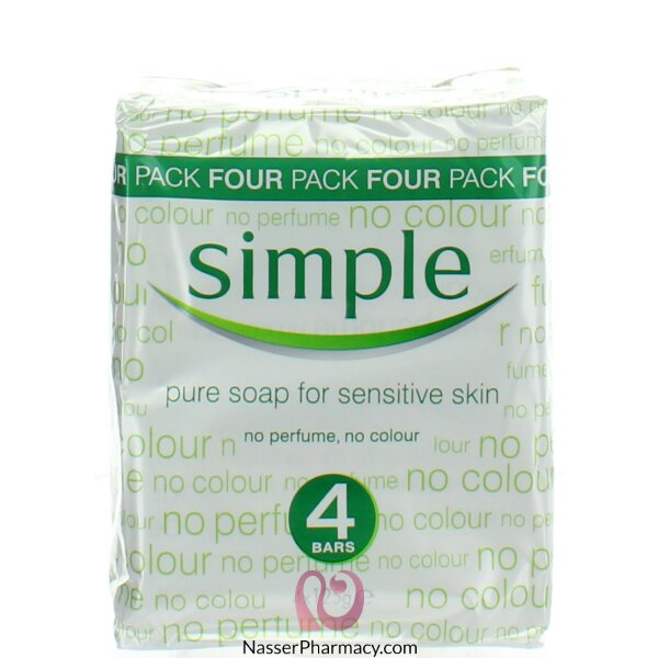 Simple Soap 4 Pack 125g