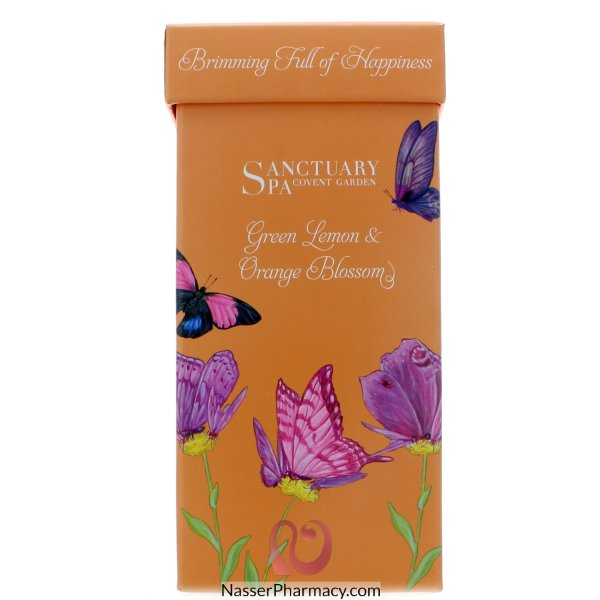 Sanctuary Gift Set Green Lemon & Orange Blossom