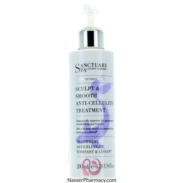 Sanctuary Spa Anti Cellulite Cream - 200ml
