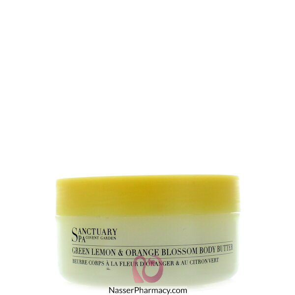 Sanctuary Spa Body Butter Green Lemon Orange Blossom 300ml