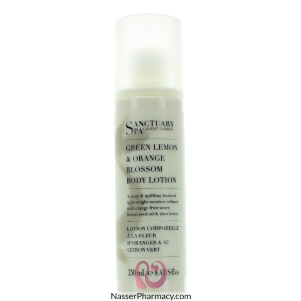 Sanctuary Spa Body Lotion Green Lemon & Orange Blossom 250ml