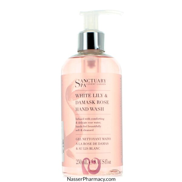 Sanctuary Spa Hand Wash White Lily Rose - 250ml