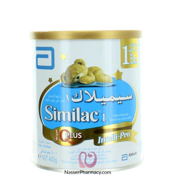 سيميلاك Similac  1 (من 0 إلى 6 شهور) آى كيو بلس 400 جرام