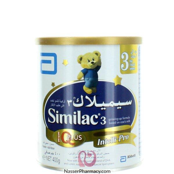 سيميلاك Similac  3 (من 1 إلى 3 سنوات) آى كيو بلس 400 جرام