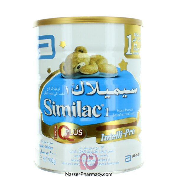 Similac 1 Iq Plus  ( From 0 To 6 Months )  900g
