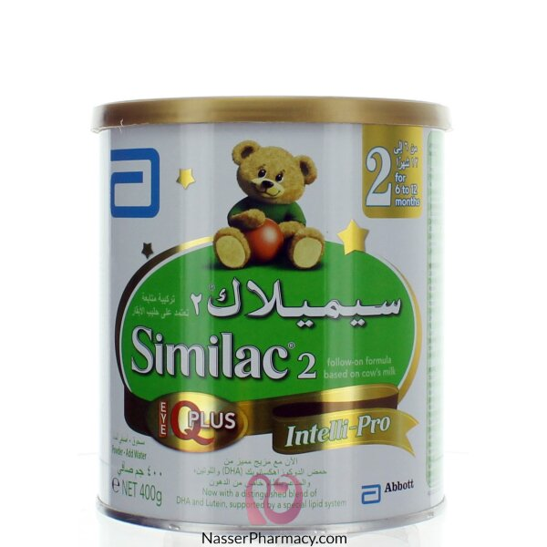 Sữa Bột Similac Neosure Iq 370g: Buy Similac 2 Iq Plus From 6-12 Month- 400G From Nasser