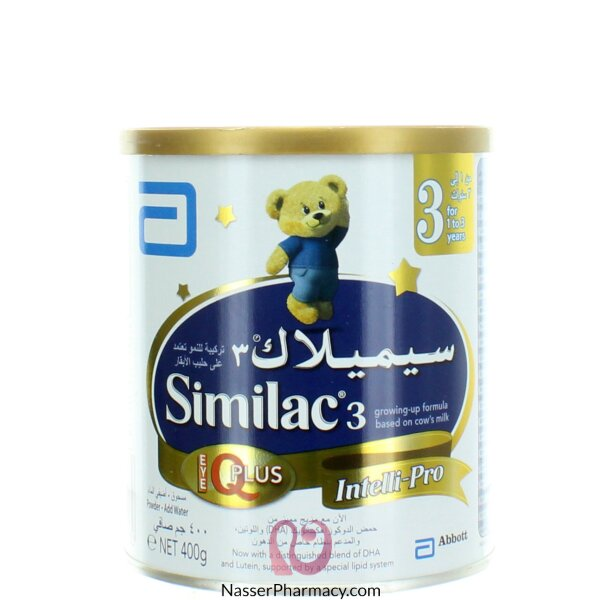 Similac 3 Iq Plus 400g ( From One To Three Years )