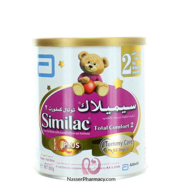 Similac Total Comfort Iq Plus (stage-2) 360g