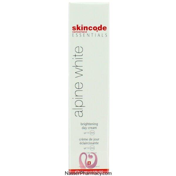 سكين كود Skincode Essentials  كريم التفتيح اليومى للحماية من الشمس 50 مل