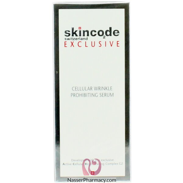 Skincode Exclusive,cellular Wrinkle Prohibiting Serum 30ml