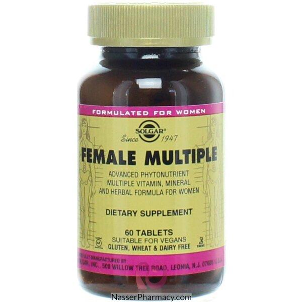 سولجار Solgar- الفيتامينات المتعددة للنساء 60 Lqy,&#39m