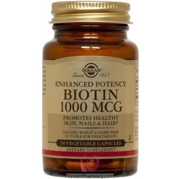 Slgr Biotin 1000mcg Cap 50's