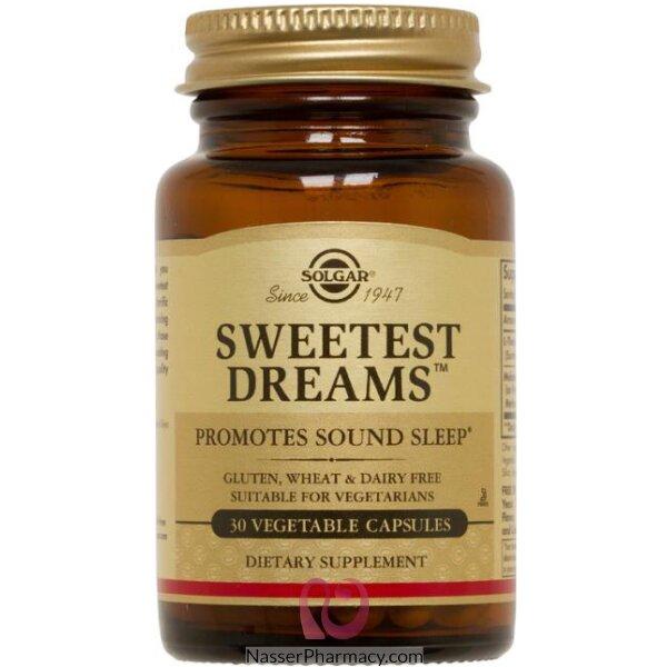 Slgr Sweetest Dreams Vegans 30 Capsules