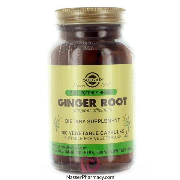 Solgar Ginger Root Extract - 100 Veggie Caps