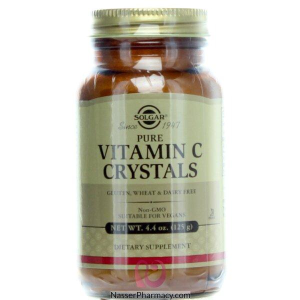 Solgar Vitamin C Crystals -125 G