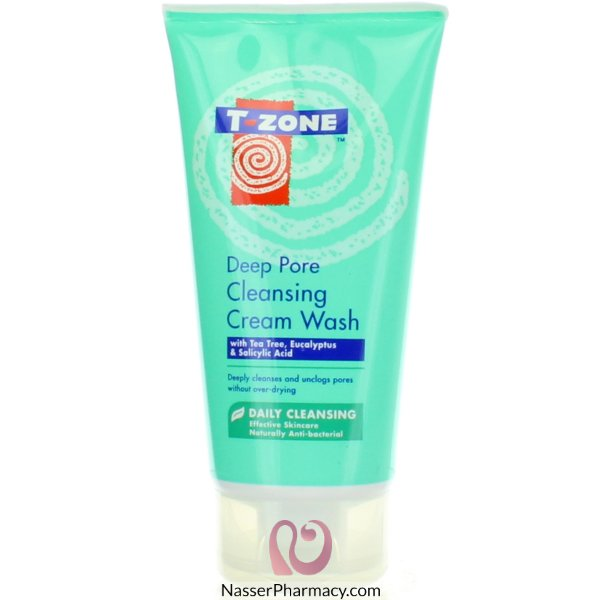 T-zone Cleansing Deep Pore Cream F/wash 150ml-47897