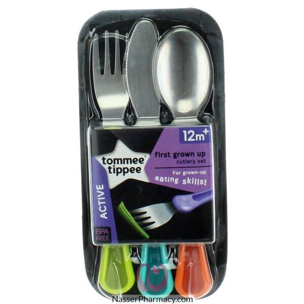 تومي تيبي  Tommee Tippee  أدوات المائدة الأولى إكسبلورا للأطفال الأكبر سناً