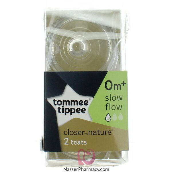 Tommee Tippee Closure To Nature 2 Slow Flow Nipples