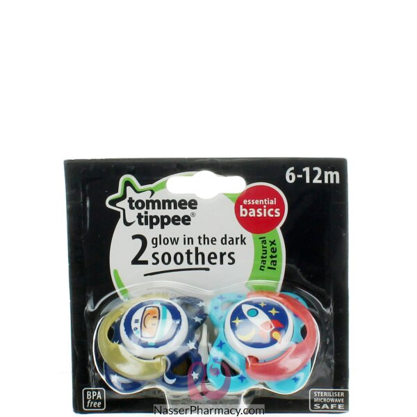Tommee Tippee Soother-glow In The Dark 6-12m