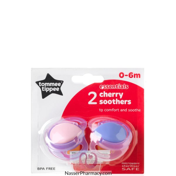 Tt Cherry 0-6m Soother X2-433236