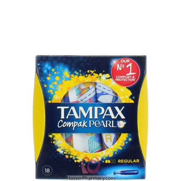 Tampax Pearl Compak Regular Tampons (18)