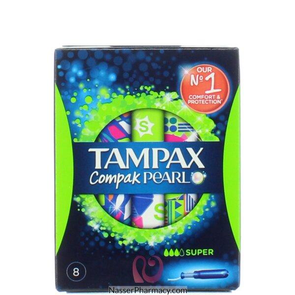 Tampax Pearl Compak Super  Tampons (8)