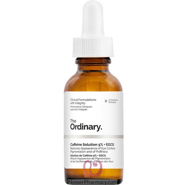 ذا أورديناري The Ordinary محلول الكافيين 5% + Egcg ، بحجم 30 ملل