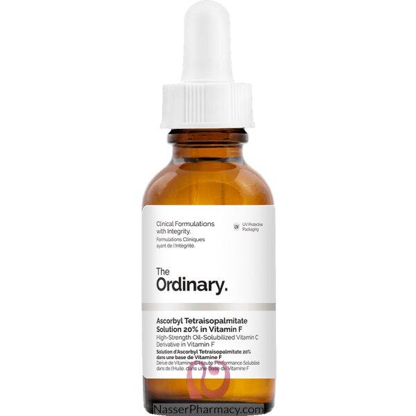 ذا أورديناري The Ordinary محلول Ascorbyl Tetraisopalmitate 20% في فيتامين F