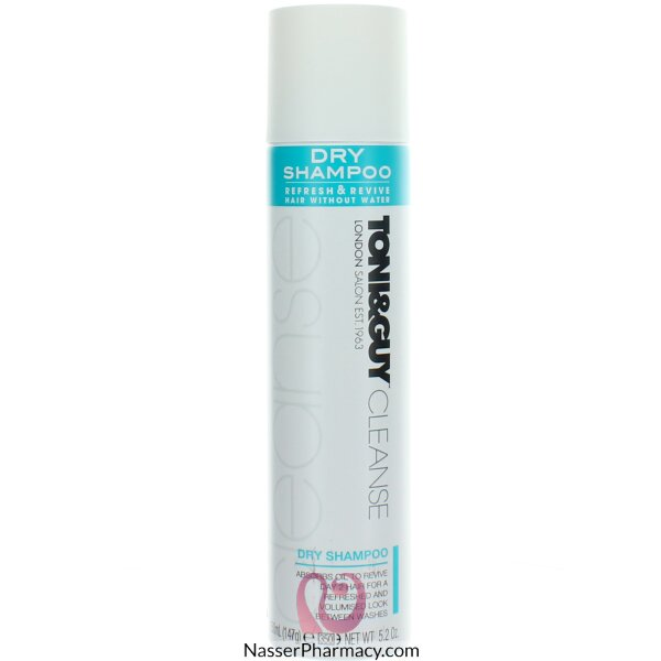 Toni & Guy Dry Shampoo Spray 250ml