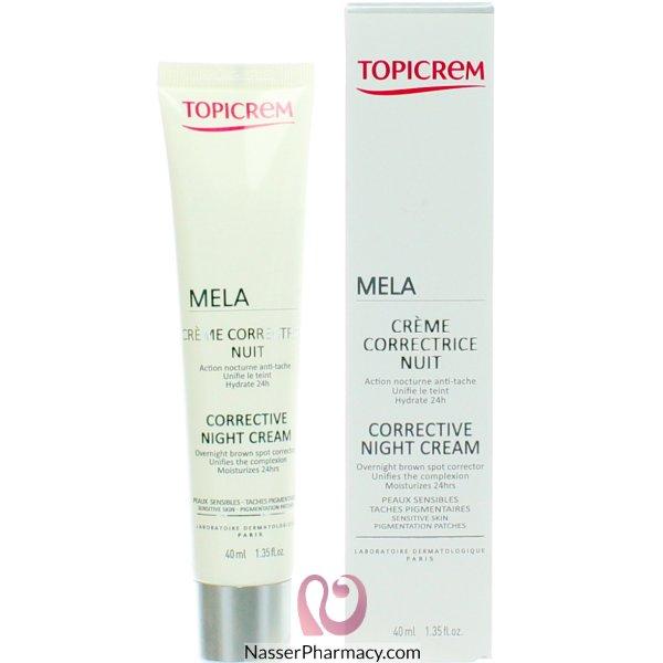 Topicrem  Corrective Night Cream 40 Ml