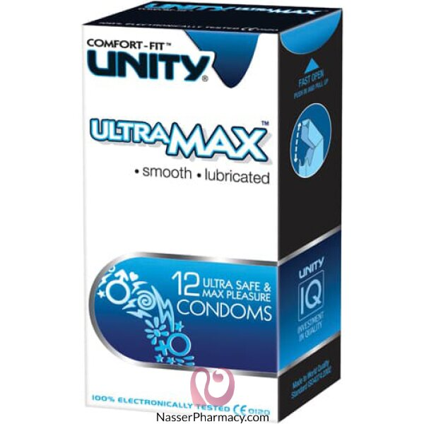 Unity Ultra Max Condoms - 12 Condom